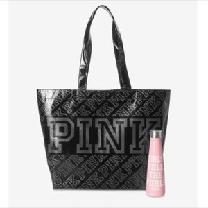 PINK Victoria's Secret S'well Water Bottle & Tote